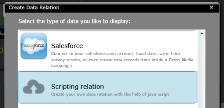 Add a Scripting Relation